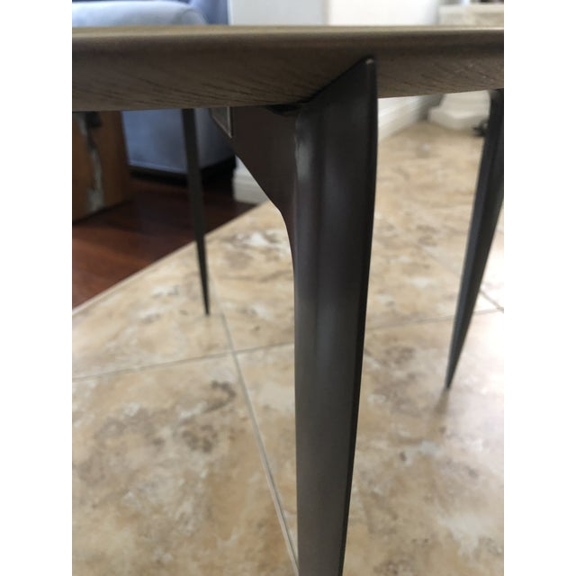 Arteriors Home Contemporary Arteriors Foldable Side/Tray Table For Sale - Image 4 of 7