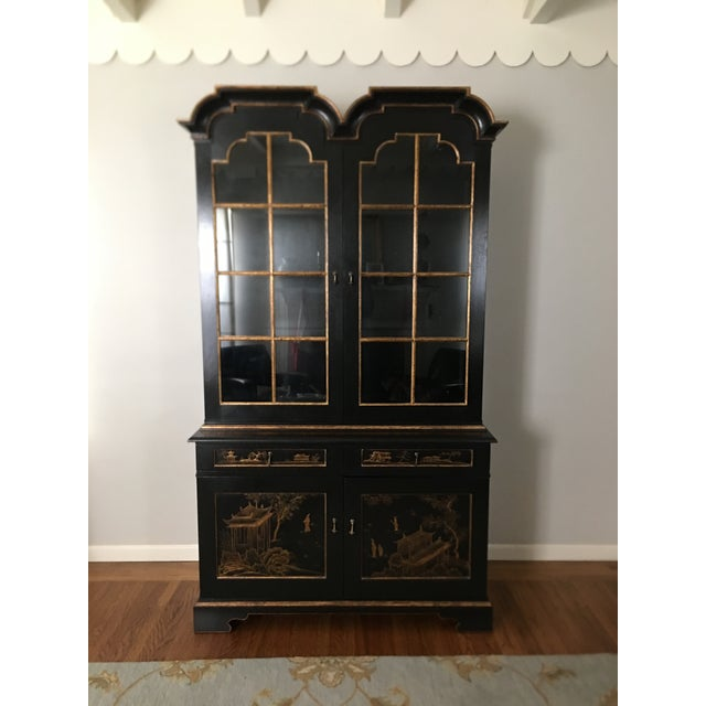 John Hall Designs Chinese Chippendale Cupboard For Sale - Image 11 of 11