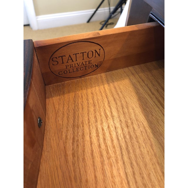 Traditional Federal Style Cherry Console Table For Sale - Image 4 of 9