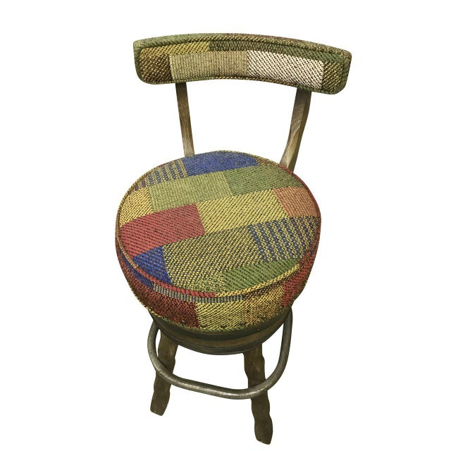 Mid Century Bar Stools - Set of 3 For Sale - Image 4 of 6
