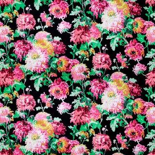 Vintage Bassett McNab Mum Madness Floral Fabric, 1 Yard For Sale