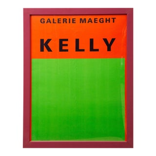 1964 Ellsworth Kelly Exhibition Poster For Sale