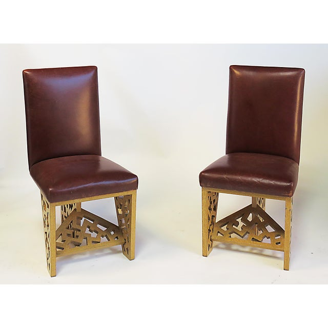 Contemporary 1970s Robert Hutchinson Designed Chairs - a Pair For Sale - Image 3 of 3