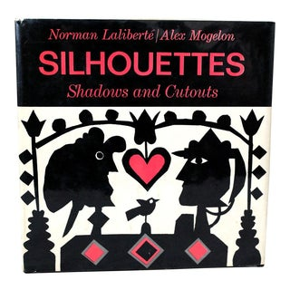 "1968 Modern Art Book, ""Silhouettes, Shadows and Cutouts"" For Sale"