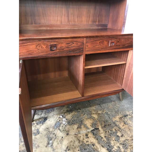 Wood 1960s Rosewood Cabinet Designed by Eric Brouer For Sale - Image 7 of 9