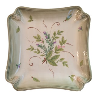 Lenox Colore Accessories Sienna & Verde Platter For Sale