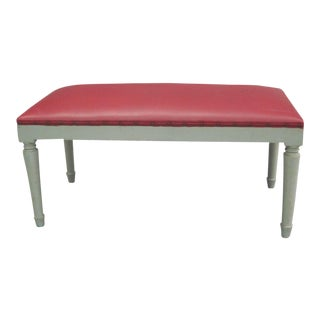 2 French Mid-Century Modern Neoclassical Benches in the Manner of Andre Arbus