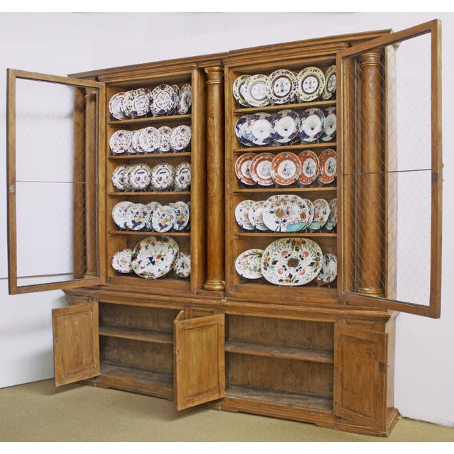Substantial and Well-Appointed English Bookcase or China Cabinet - Image 2 of 6