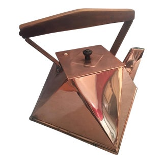 Cubist Copper Kettle For Sale