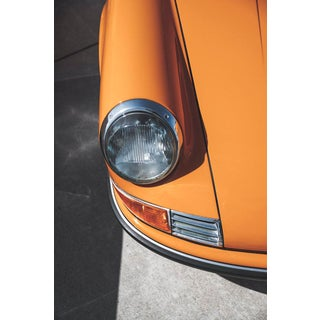 """1970 Orange"" Contemporary Automobile Still Life Photograph 16x24"
