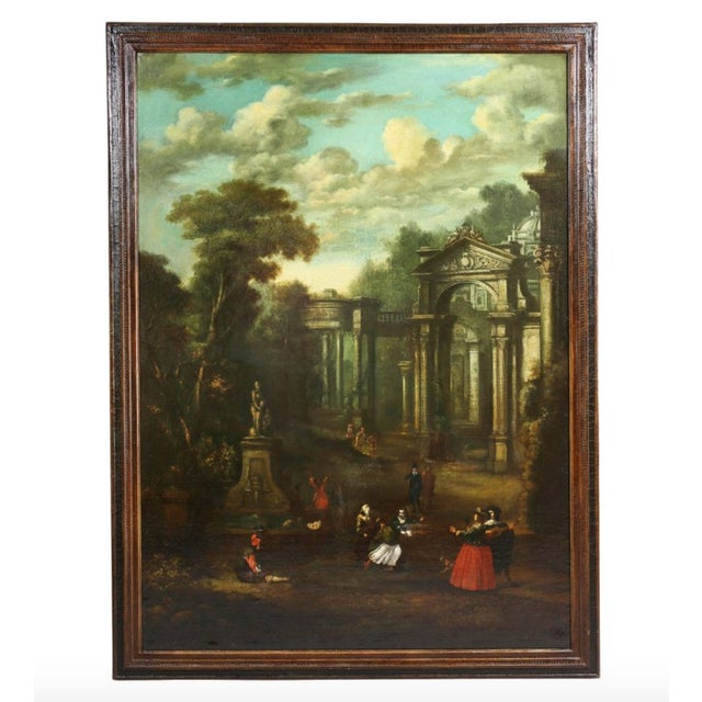 Flemish Oil on Canvas Capriccio by John Miel For Sale - Image 11 of 11