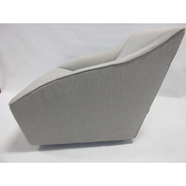 Gray Gray Molteni Doda Low Armchair For Sale - Image 8 of 10
