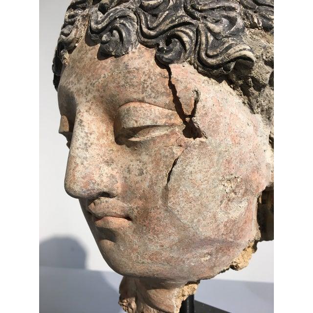 Gandharan Terracotta Head of a Bodhisattva, 3rd - 5th century - Image 6 of 10