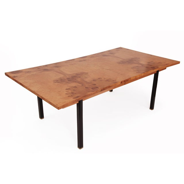 Phenomenal Figural Burl Wood Dining Table by Romweber - Image 2 of 6