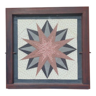 Framed Quilting Square For Sale