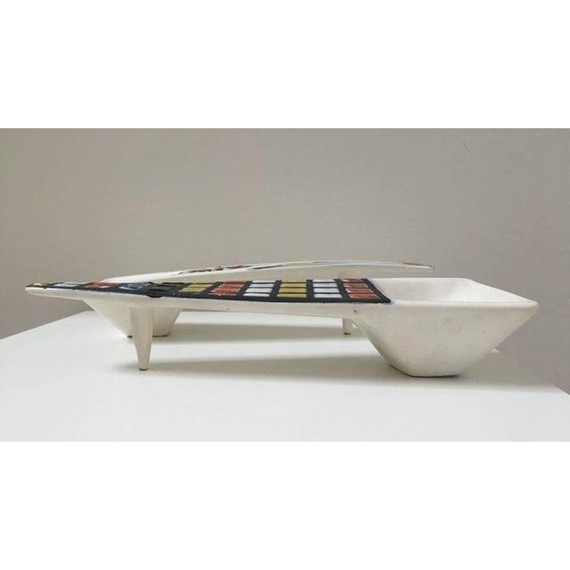 Roger Capron Signed Ceramic Dishes- Set of 2 - Image 4 of 11