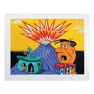 "Kenny Scharf ""Flintstones"" For Sale"