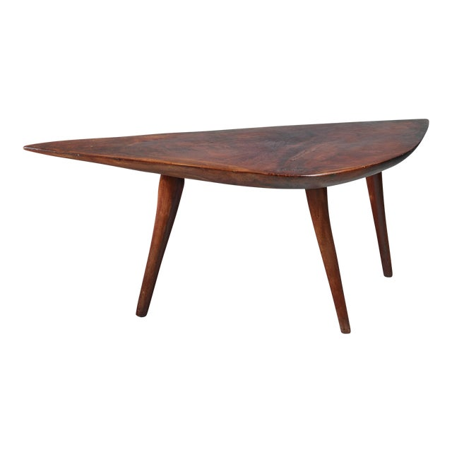 Emil Milan Freeform root wood coffee table, USA, 1960s For Sale
