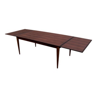 Niels Moller No. 12 J.L. Moller Danish Rosewood Refractory Dining Table For Sale