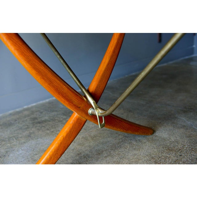 Hans Wegner for Andreas Tuck Model At-304 Dining Table, Circa 1955 For Sale - Image 10 of 13