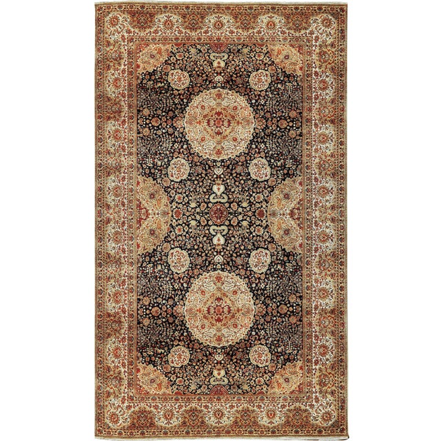 "Gallery Size Traditional Hand Woven Rug - 10'1"" X 17'5"" For Sale"