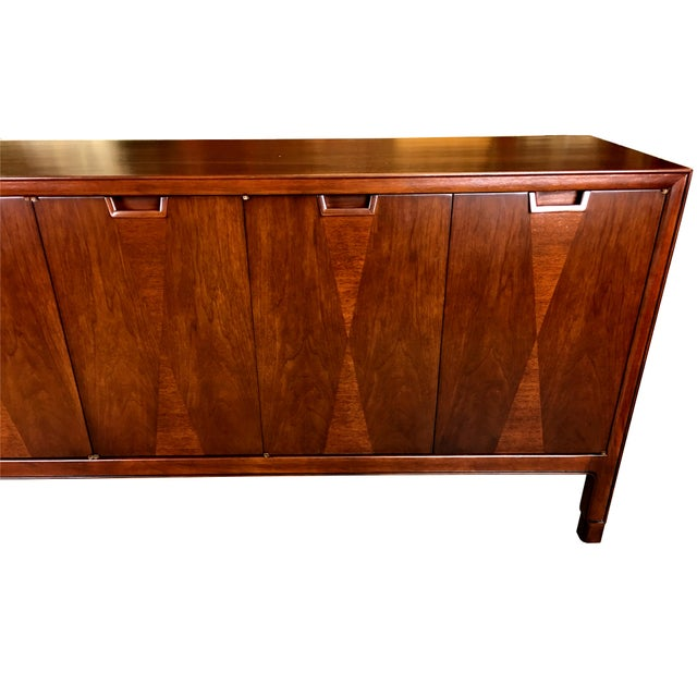 Fine Diamond Front Credenza by John Stuart-NY - Image 4 of 7