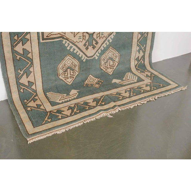 Textile Vintage Erdemir Turkish Wool Rug - 5′9″ × 8′ For Sale - Image 7 of 9