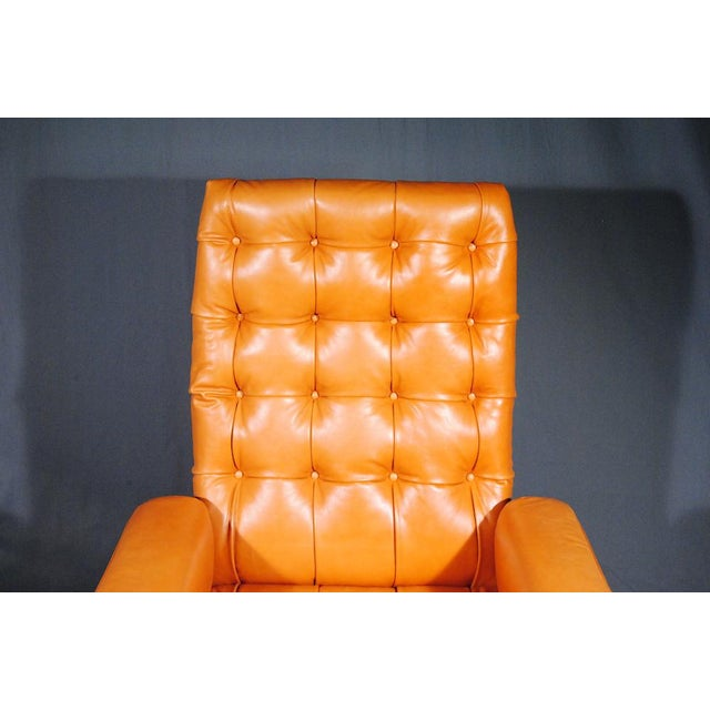 1960's Vintage Swiss De Sede DS 35 Executive Swivel Armchair - Image 4 of 4
