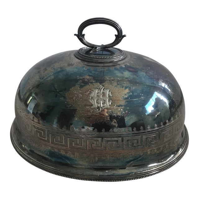 Antique Sterling Silver Serving Dome - Image 1 of 8
