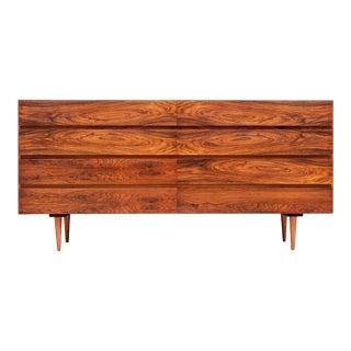 1960s Arne Wahl Iversen Danish Modern Rosewood Dresser For Sale