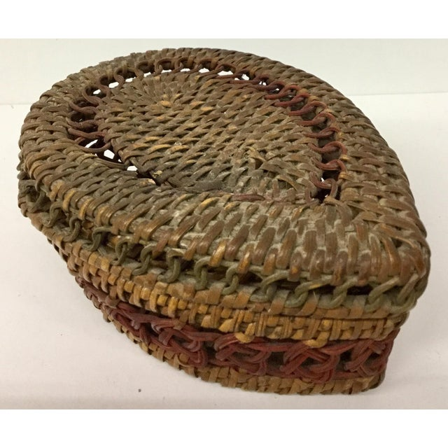 Calling all basket lovers. This cool teardrop shaped basket will definitely fit in nicely with your ongoing basket...