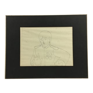 The Beatles: Rare Concept Drawings for Yellow Submarine For Sale