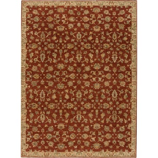 """21st Century Contemporary Indian Rug , 8'11"""" X 11'11"""" For Sale"""