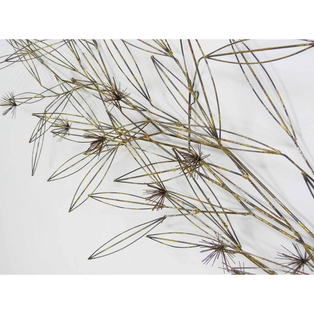 C. Jere Tree Branch Blossom Wall Sculpture - Image 5 of 7