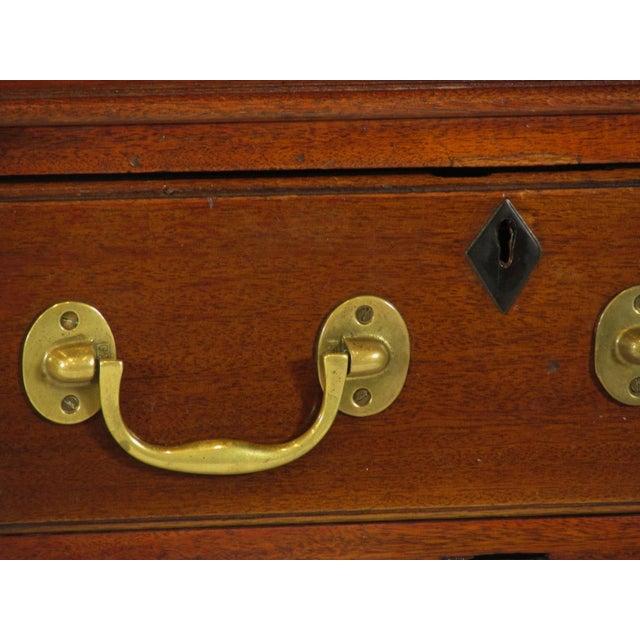 1900s Edwardian Partners Desk For Sale - Image 10 of 13