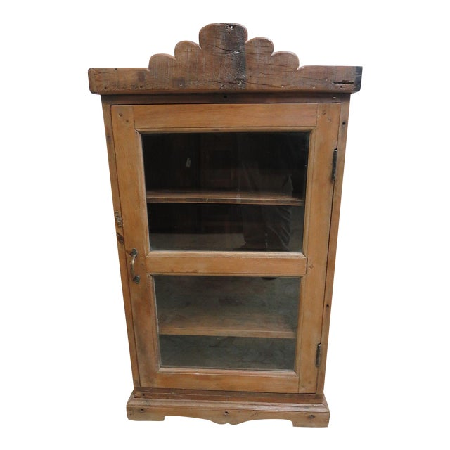 Antique Primitive China Cabinet Cupboard For Sale - Antique Primitive China Cabinet Cupboard Chairish