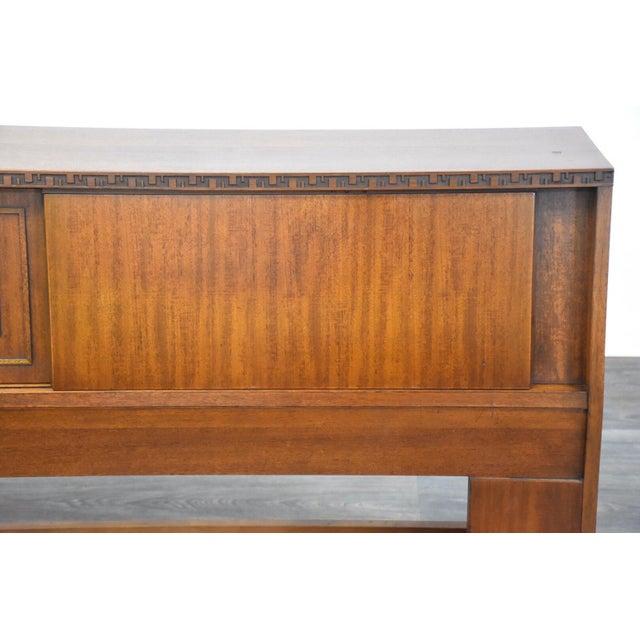 Frank Lloyd Wright for Henredon Taliesin King Headboard For Sale - Image 11 of 13