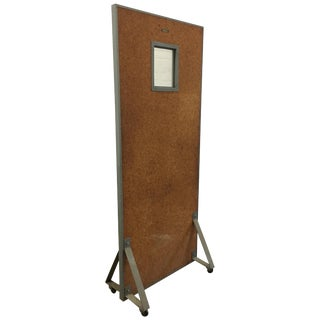 1950s Halsey Brooklyn New York X-Ray Room Partition For Sale