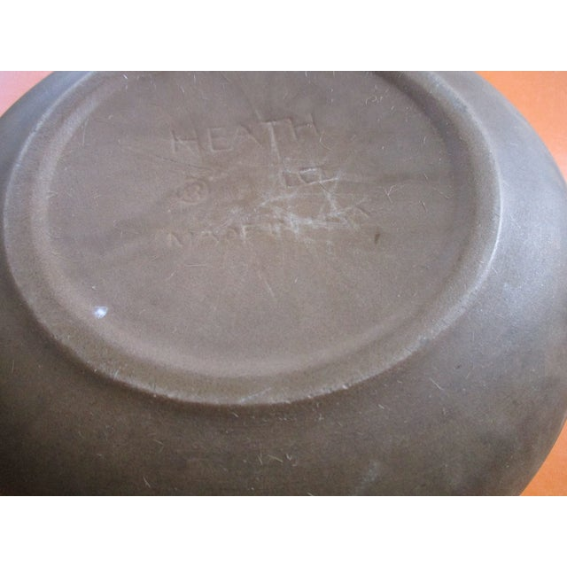 Heath Pottery Orange Ashtray - Image 10 of 11