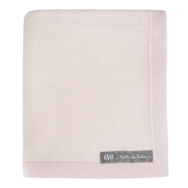 Children's The Yorkville Baby Blanket in Ballerina Pink For Sale - Image 3 of 5