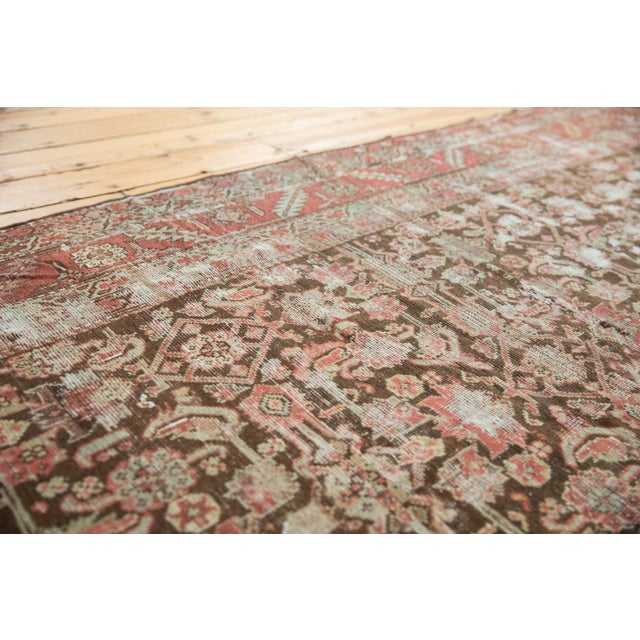 """Shabby Chic Antique Distressed Karabagh Rug Runner - 5'4"""" X 13' For Sale - Image 3 of 13"""