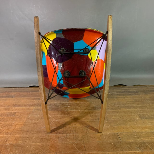1950s Jim Oliveira for Eames Rope Edge Rocking Chair For Sale - Image 9 of 13