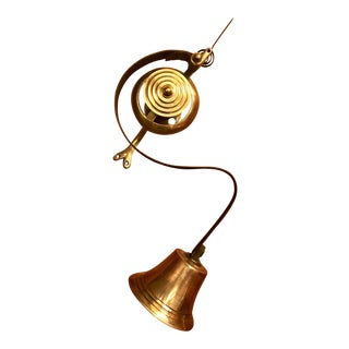 """Antique English """"Downtown Abbey"""" Servant's Bell For Sale"""