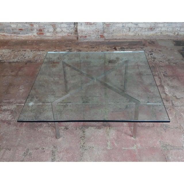 Mid-Century Modern Knoll Studio Barcelona Coffee Table -Mies Van Der Rohe For Sale - Image 3 of 9