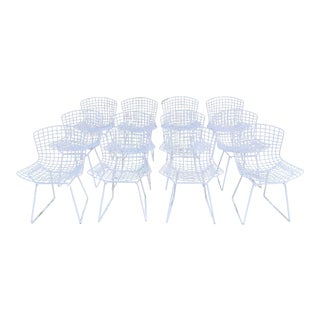 1970s Bertoia Side Chairs- Set of 12 For Sale