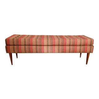 August Tufted Bench For Sale