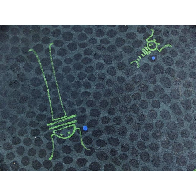 1993 Large Acrylic on Canvas by Argentine Artist Jorge Garnica For Sale In Miami - Image 6 of 9