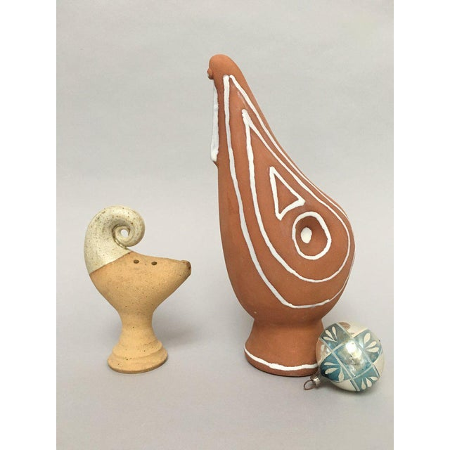 Scandinavian Modern Studio Pottery Figurines - A Pair For Sale - Image 10 of 11