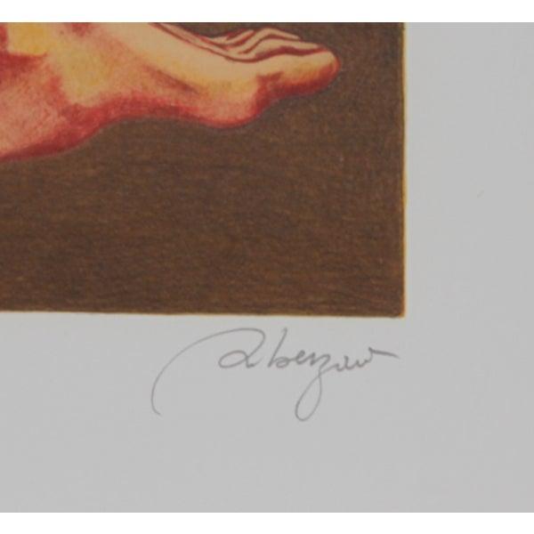 "Daniel Riberzani, ""Carousel,"" Lithograph - Image 2 of 2"