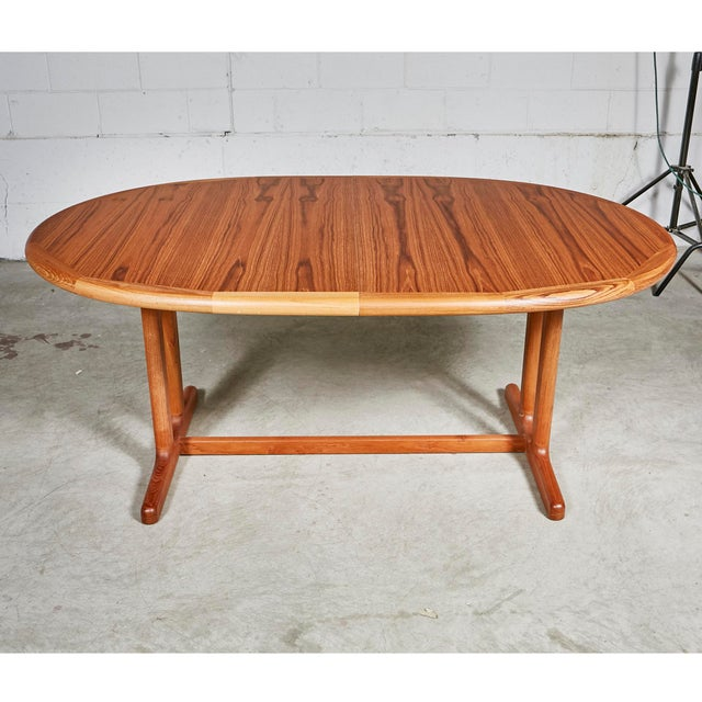 1970s Teak Dining Table & Chairs For Sale - Image 11 of 13